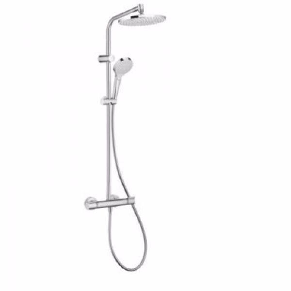 Hansgrohe MySelect showerpipe 240 mm . Krom