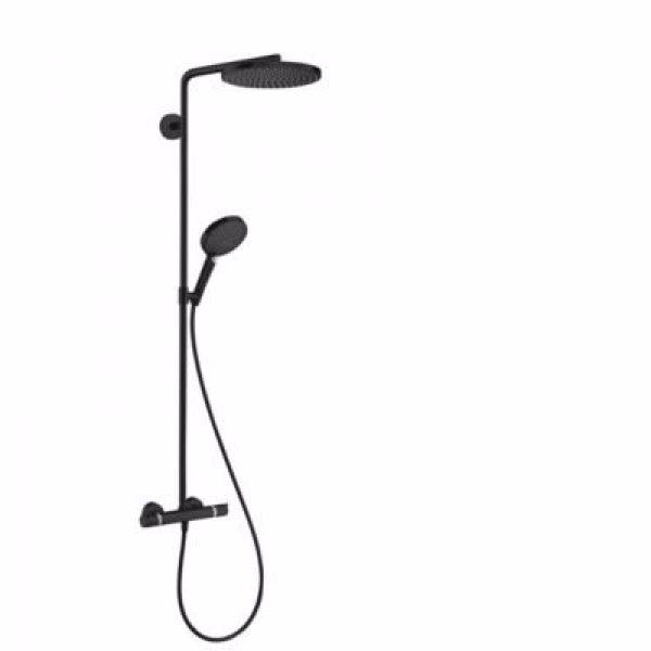Hansgrohe Raindance select S 240 PowderRain showerpipe 1jet, Mat sort