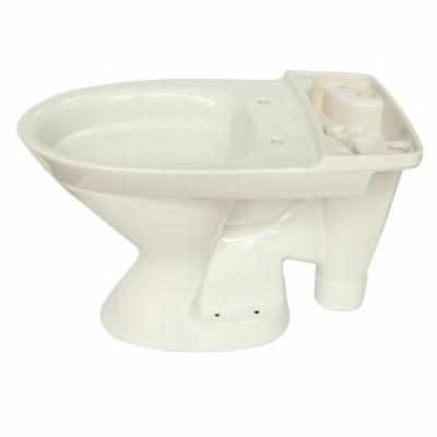 Ifö Spira toiletskål 650x355x420mm åben S-lås hvid