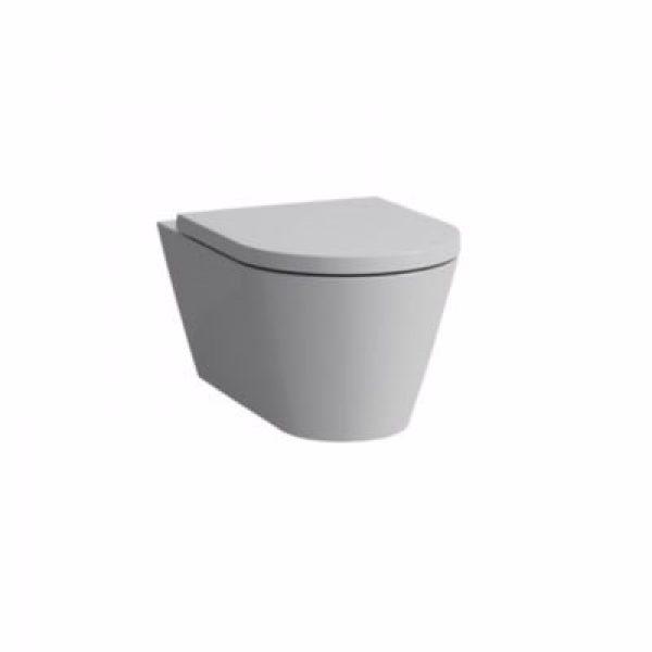 Kartell by Laufen sampak rimless, skål+sæde med softclose