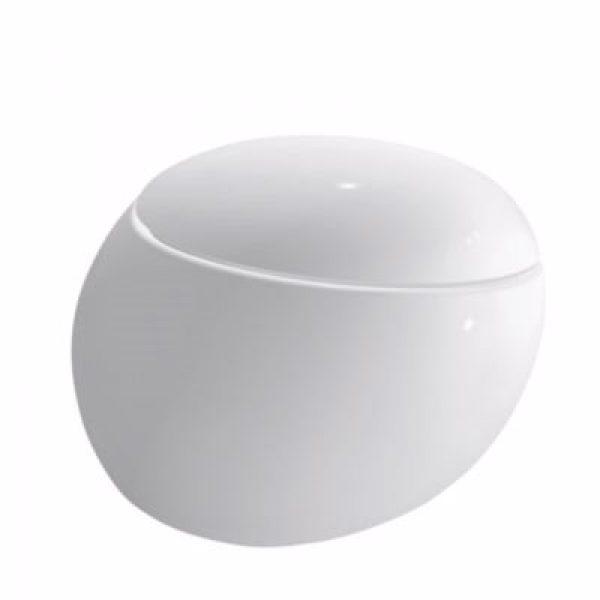 Laufen Alessi hængeskål 58,5 cm design skål, rimless, easyfit husk sæde 615510000