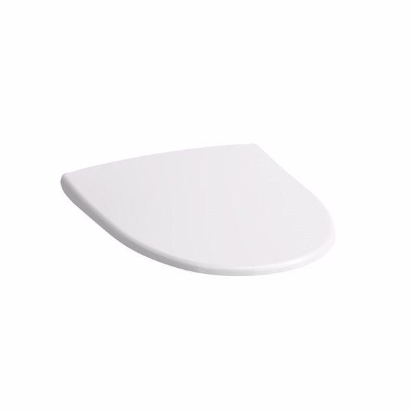 Laufen Kompas Toiletsæde med softclose og quick release, hvid