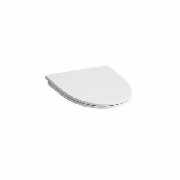 Laufen Kompas toiletsæde, hvid faste beslag hvid