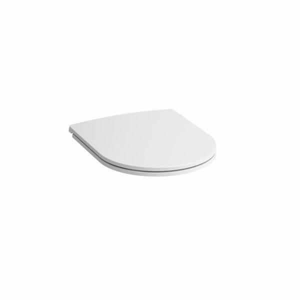 Laufen Pro slim Toiletsæde med Softclose og Quick release. Hvid