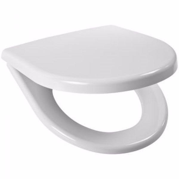 Laufen lyra plus toiletsæde med faste beslag, hvid