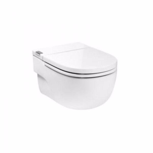 Laufen roca in-tank væg toilet med integreret cisterne. i beslag. Med softclose sæde. kræver st