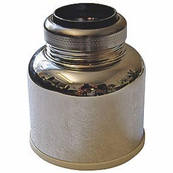 Milton afgangsforbindelse til urinal. 1.1/4'' x 50mm med omløber, konisk pakning til 32 mm