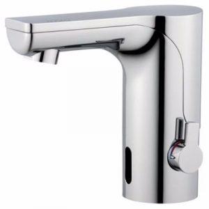 Mora mmix tronic berøringsfrit håndvaskarmatur med temperaturgreb til batteridrift (inkl. batter