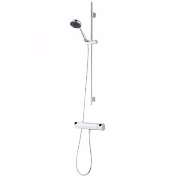 Mora one brusersæt & termostatarmatur trykbalanceret. 9l håndbruser