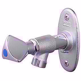 Mora posteventil t.væg 150-300mm kronegreb og nøgle. Afkortelig, Selvdrænende. Moragarden II