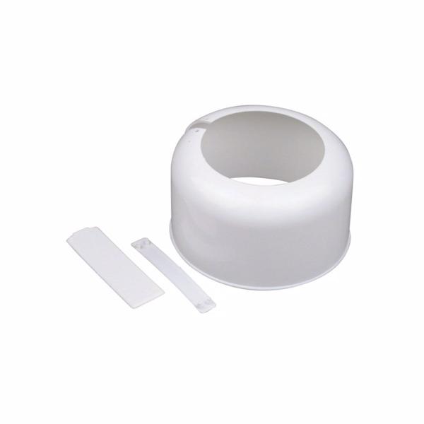 Muffeskjuler Hvid