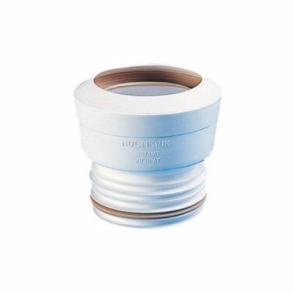 Multikwik WC-tilslutning 90mm rør 90-112mm