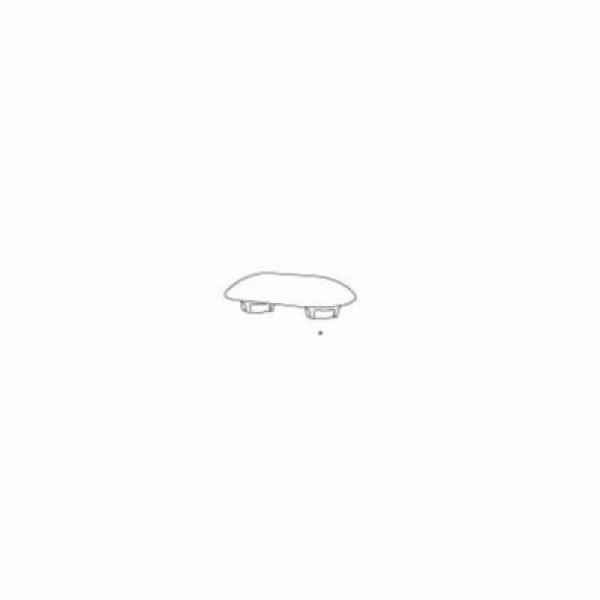 Pressalit Buffe t/sæde, grå 6 mm