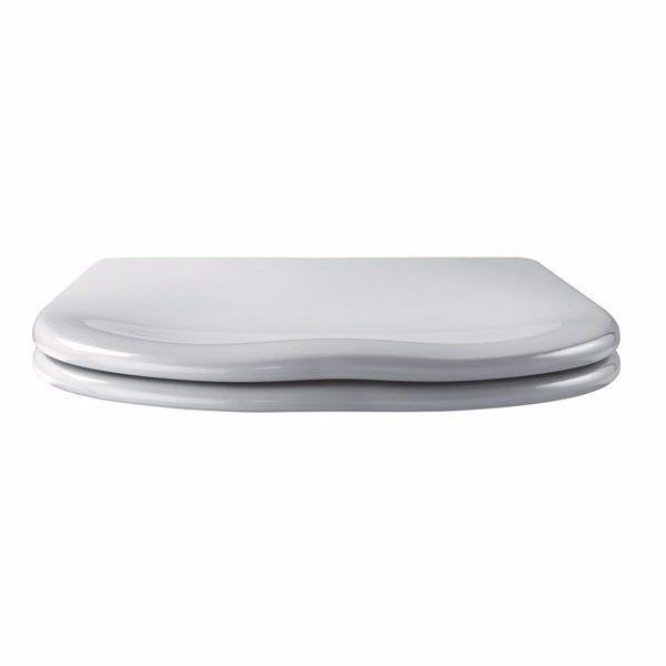 Pressalit Scandinavia PLUS 758 Toiletsæde med soft close og lift-off inkl. beslag i rustfrit stå
