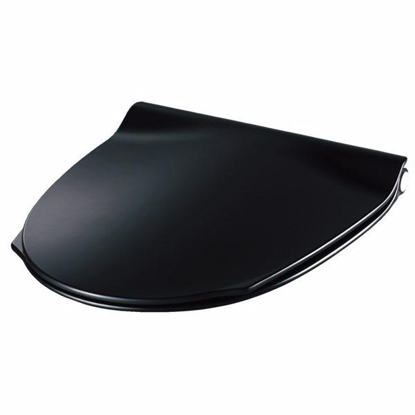 Pressalit Sign Art sæde, sort med soft close, inkl. BY1 kombi beslag