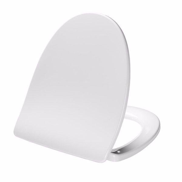 Pressalit Sign sæde med softclose & lift-off, hvid