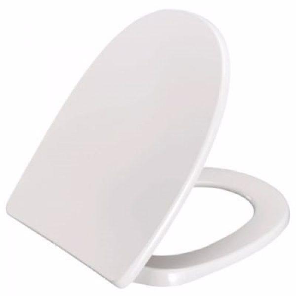 Pressalit Toiletsæde 1094 med soft close. Topmonteret til Laufen Pro-n, Kompas. Hvid
