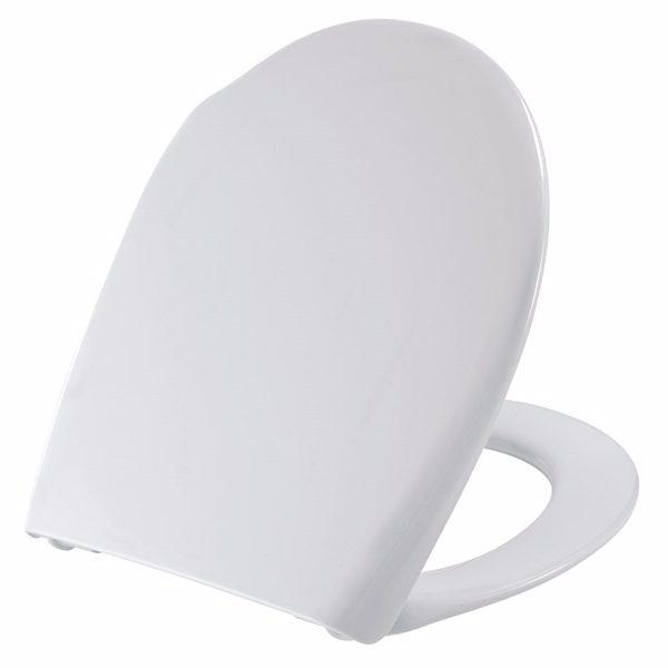 Pressalit sæde ConCordia hvid, med soft close inkl. beslag med lift-off
