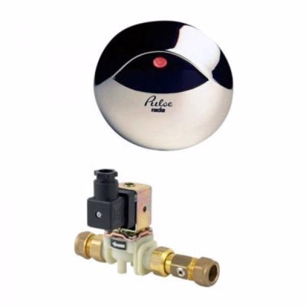 Rada pulse 120 vask/brus med ir-vægsensor, magnetventil og styremodul