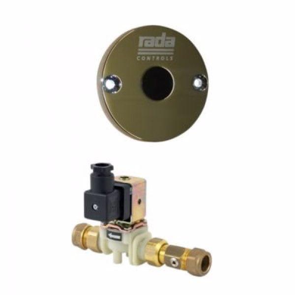 Rada pulse 129 vask/brus svær med ir-vægsensor - vandal-sikret, magnetventil og styremodul