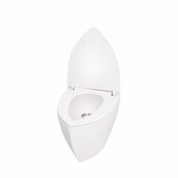 Uridan Compass Unisex GY-6-G Urinal med vertikal tilslutning. Glasfiber. Granit