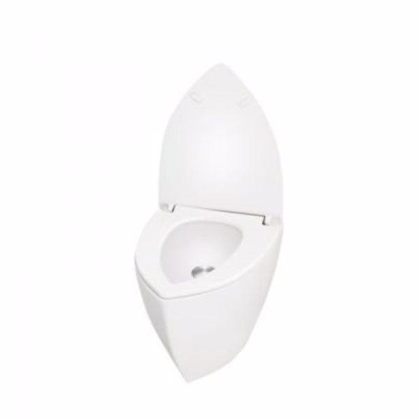 Uridan Compass Unisex GY-6-W urinal med vertikal tilslutning. Glasfiber. Hvid