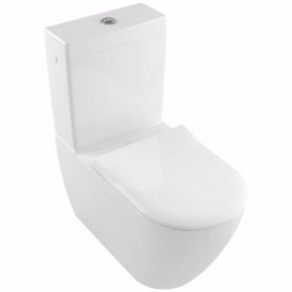 VB Subway 2,0 toilet 370x700x400mm skjult P-lås hvid alpin