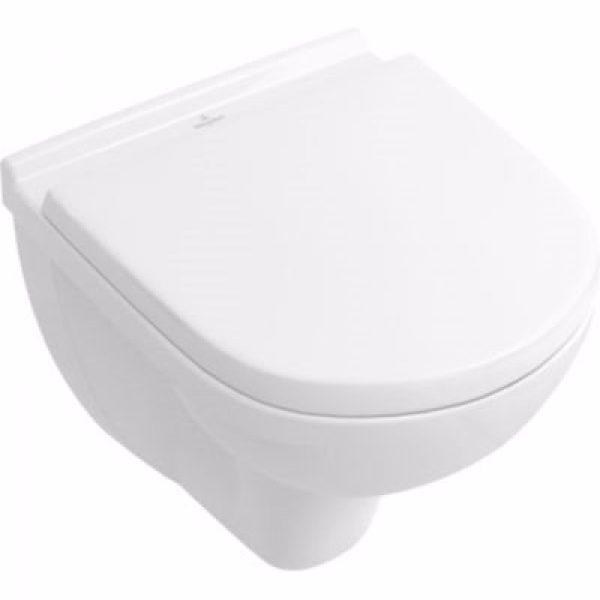 V&B O.Novo hængeskål kompakt 350x490mm hvid Ceramic +