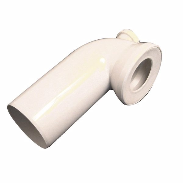 Viega Afløbsbøjning M/studs 40 Mm/90gr Hvid