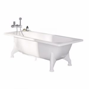 badekar Ifö 1500x700x410mm fritstå bv emalje St
