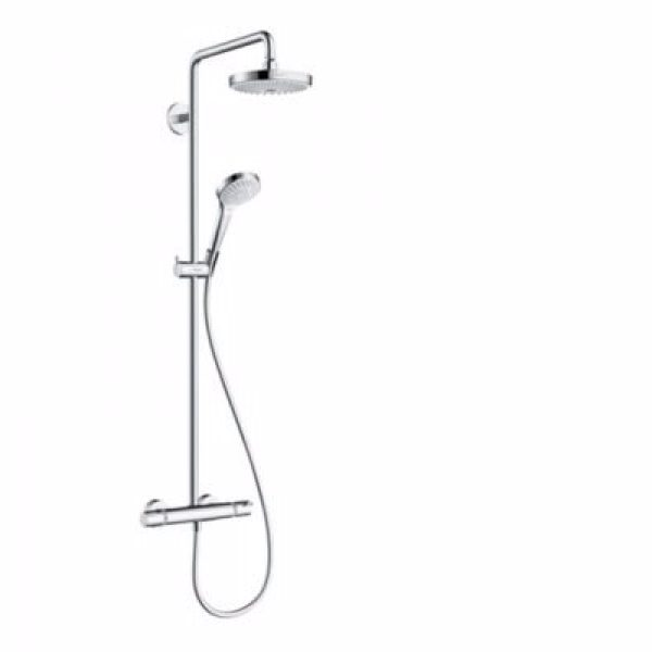 hansgrohe Croma Select S180 EcoSm SHP 2 jet hvid/krom