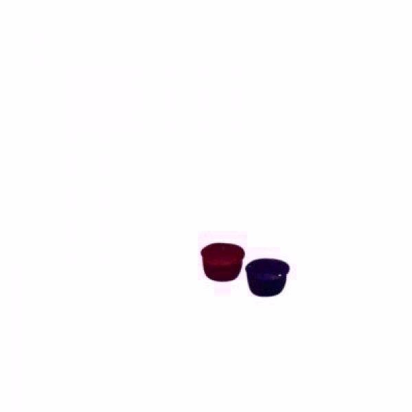 mærkeknap STANDARD BØRMA blå/rød