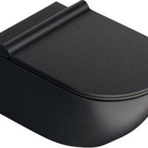 CATALANO SFERA54 Newflush hængeskål 54x35mm, cataglaze Mat sort