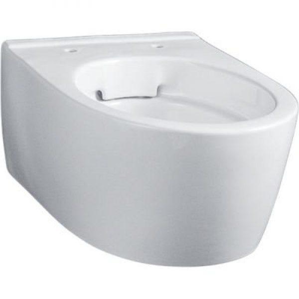 Geberit Icon hængetoiletskål 350x490x330mm t/indb.cist hvid