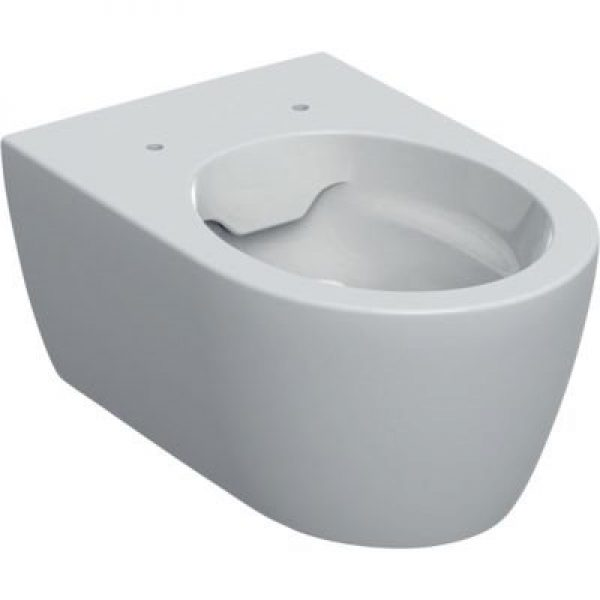Geberit Icon hængetoiletskål 355x530x330mm t/indb. cist hvid