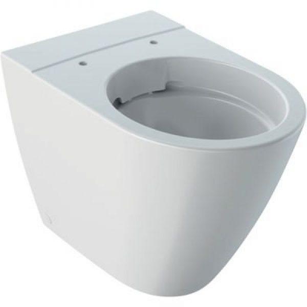 Geberit Icon toiletskål 355x560x405mm t/indb.cist hvid