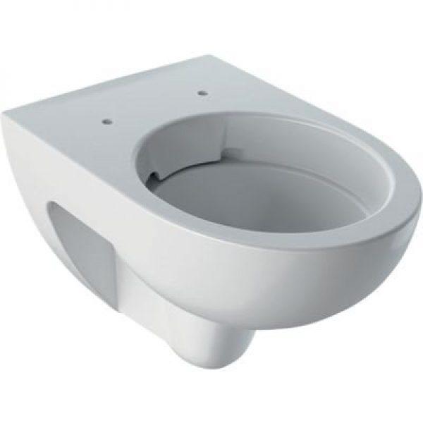 Geberit Renova hængetoiletskål 355x540x340mm t/indb.cist hvid